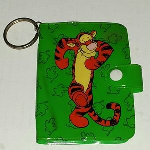Tigger Wallet Credit Cards Photo book Key Chain